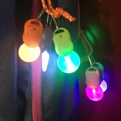 LED-Reißverschluss-Licht Keychain Sicherheits-Nachtsport-Licht