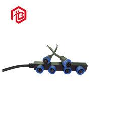 Câble en caoutchouc avec de type F du connecteur en nylon imperméable