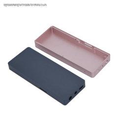 Cassa lavorante personalizzata dell'alloggiamento del metallo di CNC di alta precisione del giocatore del MP3 MP4