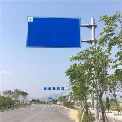 Palo di segnalazione, pali di cartello in acciaio galvanizzato quadrati, palo di segnalazione, struttura in acciaio