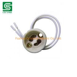 Keramischer Kontaktbuchse-Lampenhalter des LED-Lampen-Halter-GU10/Gz10