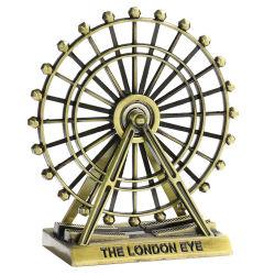 Ornamento da mesa de vidro decorativo Ferro Artesanato criativo girando a roda gigante