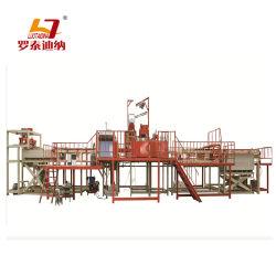 Placa de techo de yeso laminado las líneas de producción de la máquina