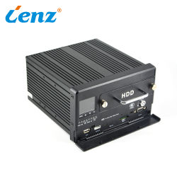 Videocamera di sicurezza mobile HDD 4G DVR con GPS