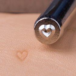 宝石類のツールの革クラフトのツールの記号の金属手のスタンプR014の小さい中心の記号の穿孔器