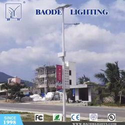 12m poste de acero de la luz de la calle calle la luz solar