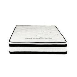 China-Hersteller europäische King-Size Latex-Speicher-Schaumgummi-Bett Matratze mit 5 Zone Tasche-Umwickeln-Sprung-Matratzen