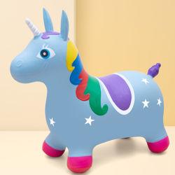 Cierre de ejercicio de asiento para niños Promoción Actearlier paseo en caballo de juguete inflable grande ciervo Vaca Animal saltarinas