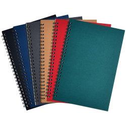 Kantoorbehoeften van het Notitieboekje van het Document van Kraftpapier van de Gift van de Bevordering van de Agenda van het Leer van de School Pu van het Dagboek van de student de Spiraalvormige A5
