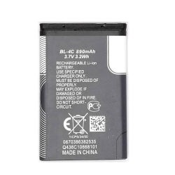휴대폰 Nokia 6100용 3.7V 890mAh 교체용 리튬 이온 배터리 BL-4c
