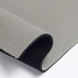 Impermeable ligero gris suave terciopelo de Neopreno de tela para funda para portátiles maletas