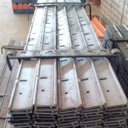 F Profiel zijrail voor betonvorm