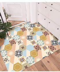 Apoio de manta de PVC Popular Cozinha Porta PVC Tapetes Capacho adulto de PVC de superfície Aspirador Retângulo moderna casa de banho