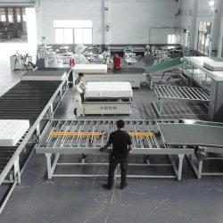 マットレスのテープ端のミシンのためのスマートな生産ライン