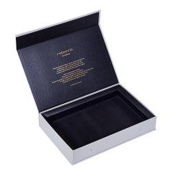 Пользовательские номера Делюкс косметический упаковки белый магнитное закрытие подарочные коробки бумаги