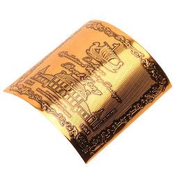Het douane Gepersonaliseerde Zegel In reliëf gemaakte Etiket van de Sticker, de Sticker van het Etiket van de Fles van het Water, het Etiket van de Sticker van de Wijn