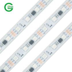Hochwertige Ws2811 RGB Pixel LED Licht 30LED/M Wasserdicht IP67 Silikonstreifen Für Den Außeneinsatz