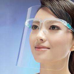 Fornitore antinebbia di plastica protettivo diplomato trasparente della visiera della visiera della spruzzata della mascherina di sicurezza della visiera dell'animale domestico all'ingrosso in pieno anti
