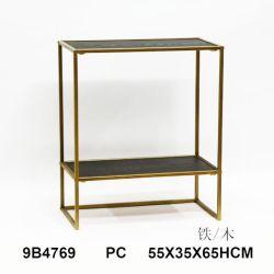 Van goede kwaliteit Antieke wandstaande metalen opbergkasten Side Table Furniture Houten consoletafel