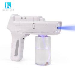 휴대용 무선 파란 광선 Nano 소독 분무기 소독제 스프레이어