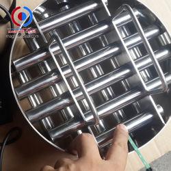 Imanes de neodimio NdFeB Magnetic, Imán de la rejilla redonda de acero inoxidable magnético grados
