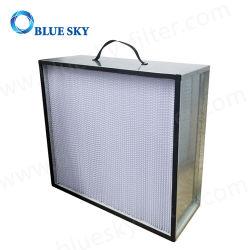 665*670*230 mm de profondeur de châssis en aluminium pli la case : H13 filtre HEPA de climatisation