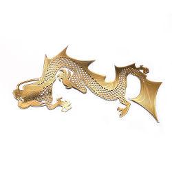 Hersteller Kundenspezifische Produktion Nickel Galvanoforming Metall Logo