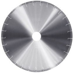 Quarz-Felsen-Ausschnitt-Durchmesser 350mm 400mm Sägeblatt