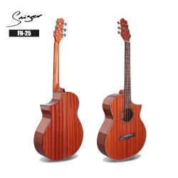 Chitarra elettrica a buon mercato acustica musicale elettronica dello strumento con la chitarra ampère