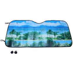 Drôle de pare-soleil de la fenêtre Pare-brise de voiture de parasol bulle de couleur