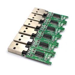 جهاز تخزين USB محمول بلوحة PCBA مع أحدث ما في عالم الموضة مزود بذاكرة ترويجية 2.0 شريحة عارية