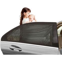 Auto-Seitenscheibe-Farbtöne, Autosun-Farbtöne für UVschutz, 2 Satz und Universalitäts-Sitz