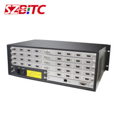HDMI Matrix 16X20 Video Wall processor modulair ontwerp HDMI Multi-Input En uitvoer naadloos schakelen Pip Splicing roaming