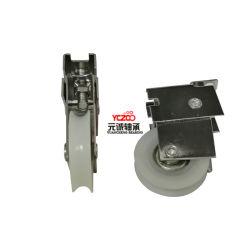 Ventana de aluminio ajustable rueda deslizante con revestimiento