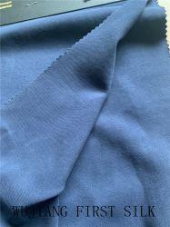 50% seta filata 50% tessuto twill di cotone