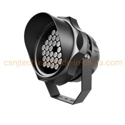 S222 48 W 白色および RGB 防水 LED スポットライト、用 屋外照明
