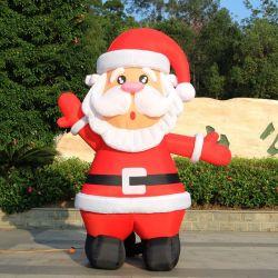 Hot-Selling charmant Santa Claus gonflable, père noël, gonflable Noël, Infation d'air