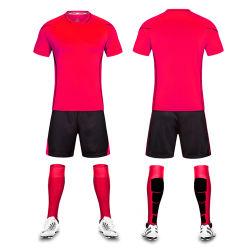 Groothandel Factory Custom Kids and Adult voetbal shirt club voetbal Wear Kit Away Voetbal Uniform