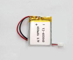 403040 de 3.7V 400mAh/450mAh batería de polímero de litio recargable /Las células de polímero de litio