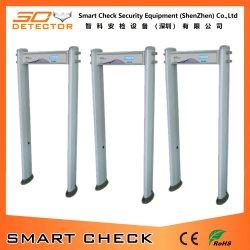 Использование вне помещений дверной рамы сканера для всего тела металлоискателя