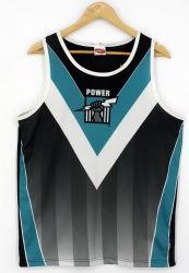 Colete os homens australiano equipa de Impressão por Sublimação Térmica Jersey Shirts Afl vestuário (S8294)