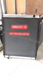 Radiatore per escavatore Komatsu PC35r-8 in alluminio con raffreddamento ad acqua
