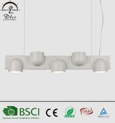 Pendente Branco em acrílico de alta qualidade para a sala de jantar luzes da retaguarda