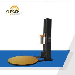 Involucro automatico personalizzato della pellicola di stirata della piattaforma girevole del pallet/involucro Shrink di pattino/involucro del pallet con la scala