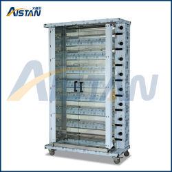 Máquina vertical do Roaster do Rotisserie da galinha do aço inoxidável do gás Kj8 do equipamento da cozinha da restauração