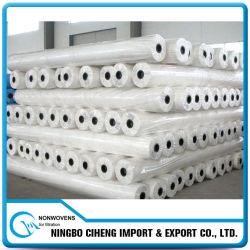Tissu en gros de Nonwoven de Spunbond de polyester de constructeur