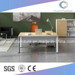 Modern L-Vormig computerbureau houten tafelmeubilair (CAS-M1750)