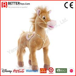 Nouveau design animal en peluche Peluche cheval permanent peluche pour bébé enfant