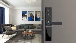 Cartões de código pin de Impressão Digital Biométrico fechadura de porta Digital Proteja sua casa inteligente