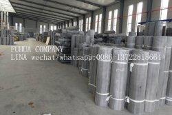 Finition en acier inoxydable 14X14 ou Wire Mesh noir en aluminium